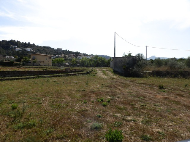 Benidoleig Land For Sale - €195,000