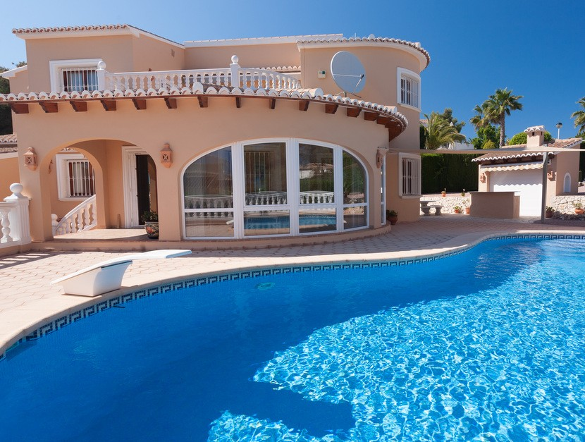 Moraira Villa For Sale - €595,000