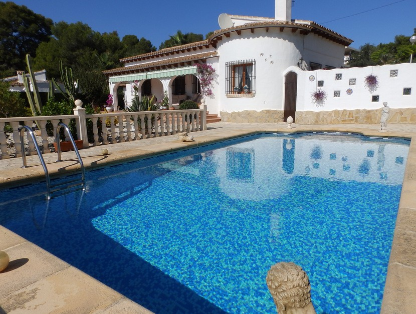 Moraira Villa For Sale - €549,000