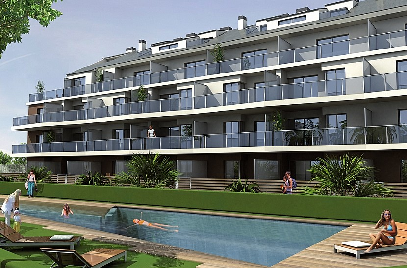 Denia Penthouse For Sale - €235,000