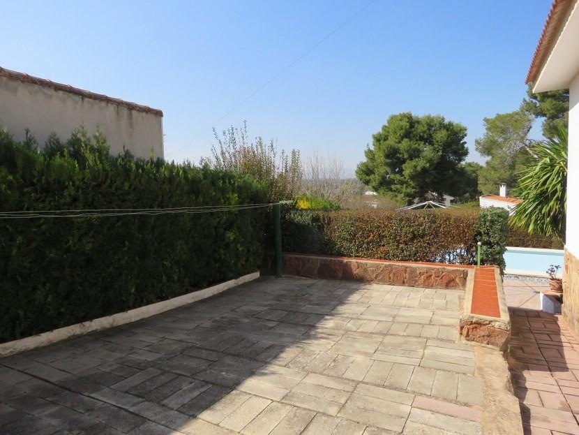 Second terrace  - 3 bed 3 bathroom Villamarchante