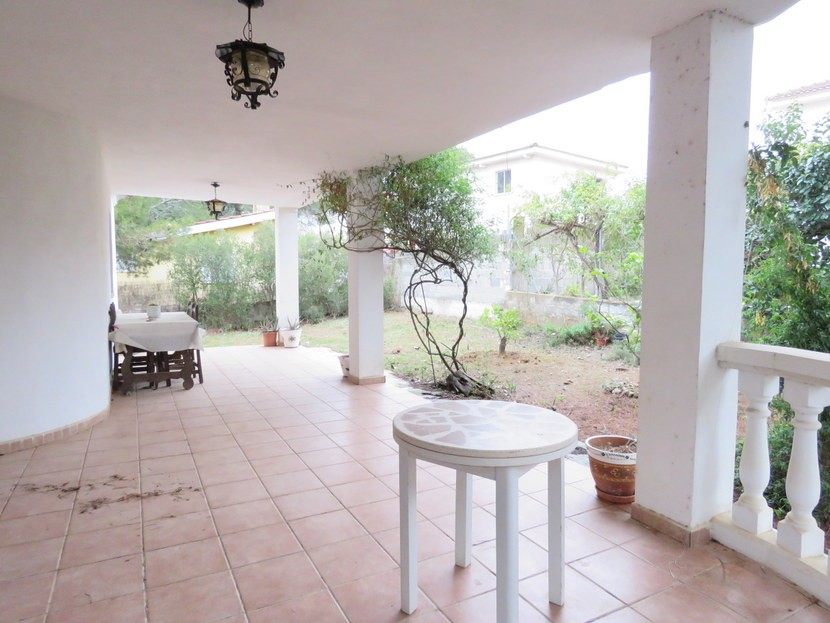 Back terrace  - 4 bedroom 2 bathroom villa Villamarchante