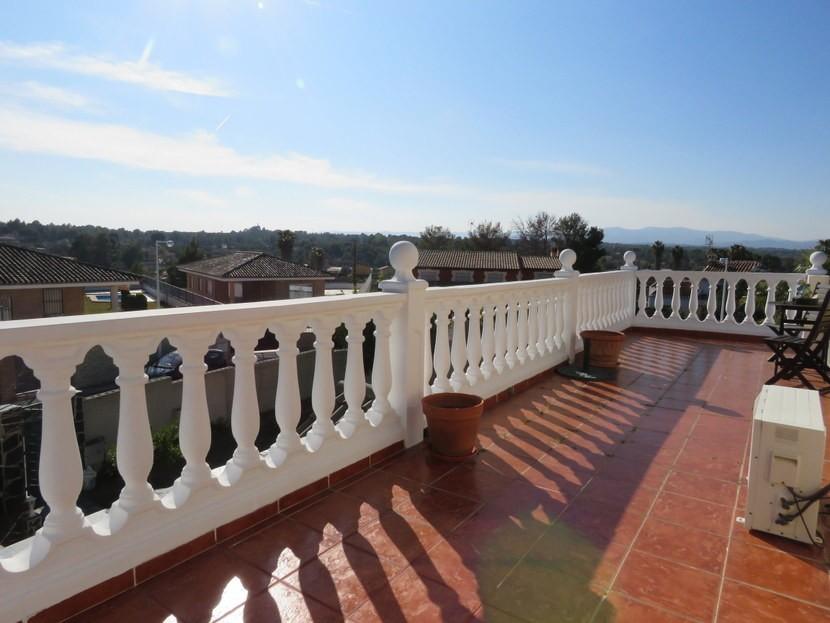 Terrace  - 3 bed 3 bath Villamarchante