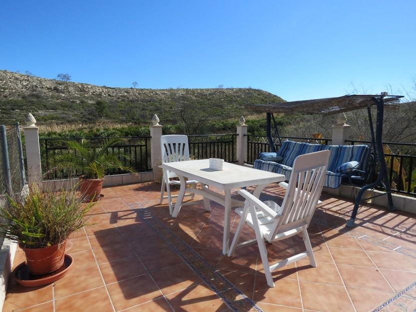 Terrace  - 3 bed 1 bath Pedralba