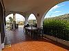 Front terrace  - 3 bed 1 bath Pedralba