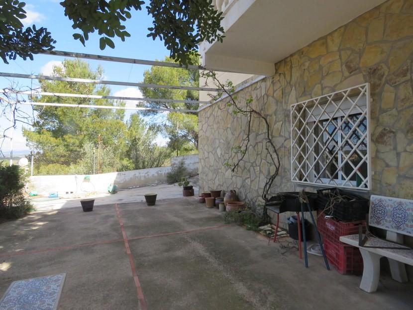 Garden  - 5 bedroom 2 bathroom villa Villamarchante