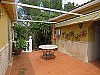 Back terrace  - 4 bed 2 bath Montserrat