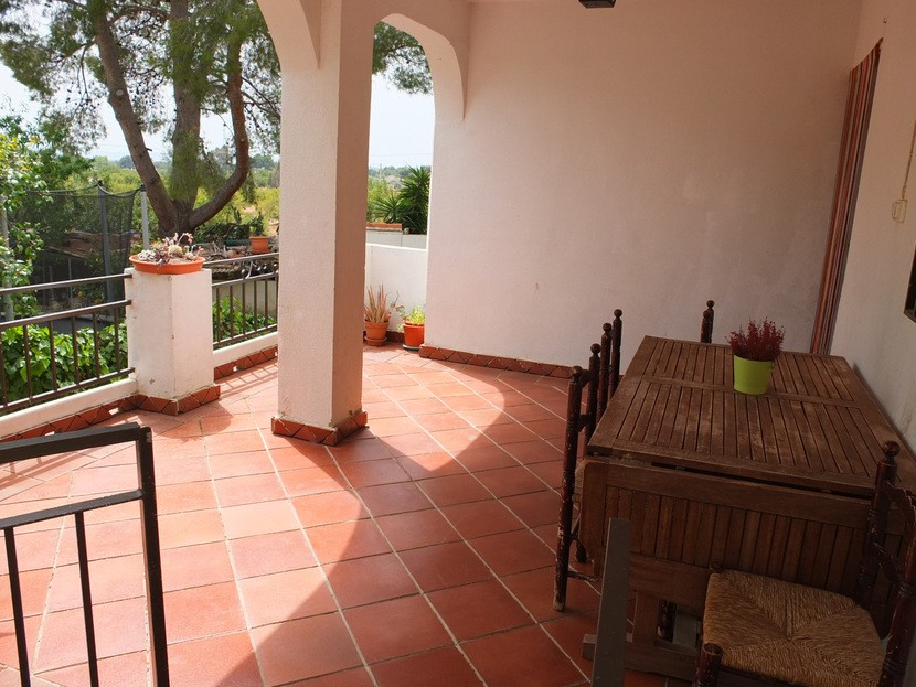 Terrace  - 2 bed 1 bath Olocau