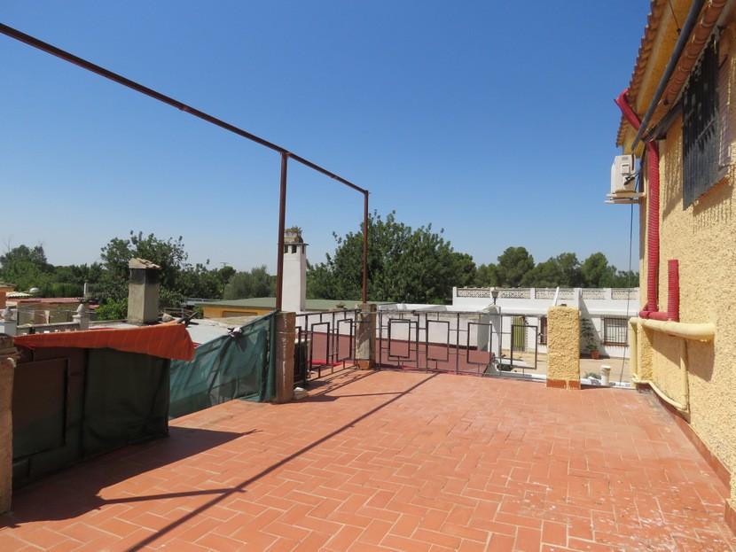 Back terrace - 6 bed 4 bath Lliria