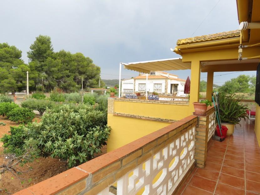 Front terrace  - 5 bed 2 bath Montserrat