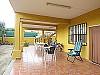 Ground floor terrace  - 5 bed 2 bath Montserrat