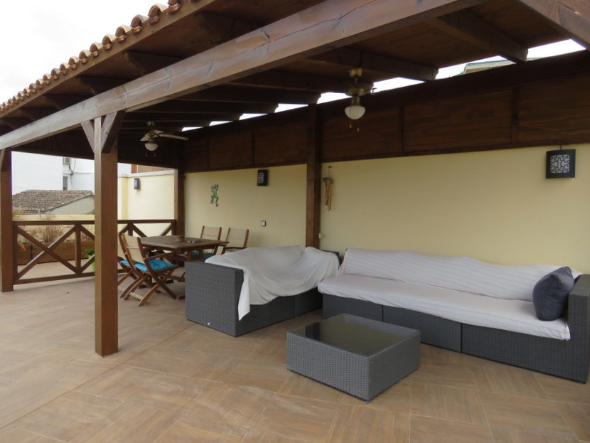 Rooftop terrace  - 4 bed 2 bath Betera