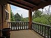 Upstairs terrace  - 5 bed 3 bath Chiva