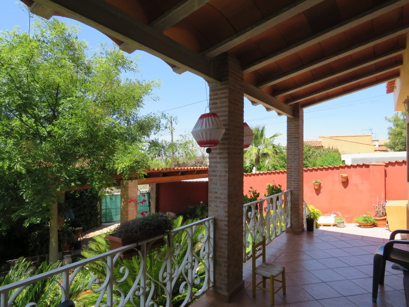 Front terrace  - 3 bed 2 bath Olocau