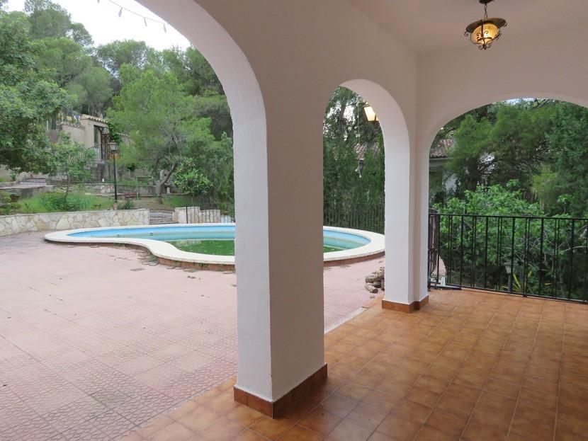 Front terrace - 6 bed 2 bath Torres Torres
